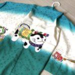 5歳 狛犬着物は3配色