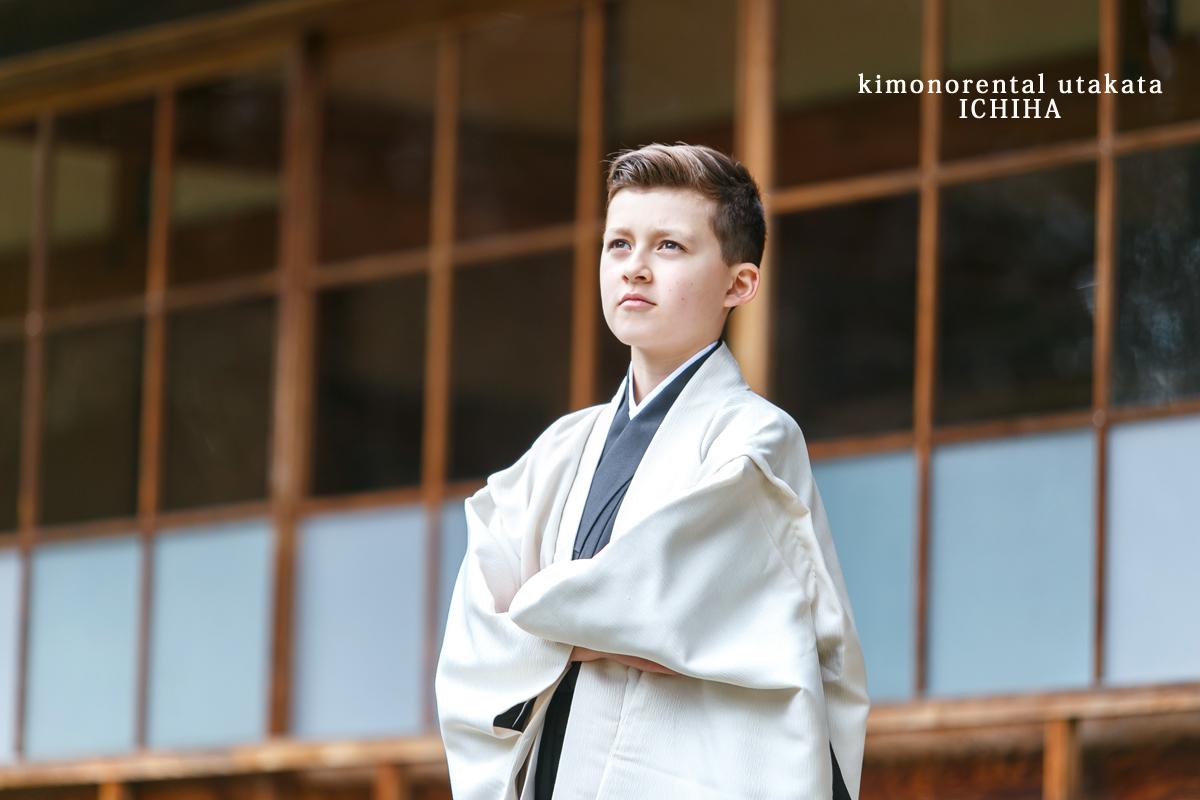 小学生卒業袴レンタル男の子