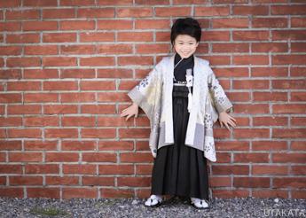 七五三人気の5歳袴